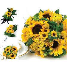 sunflower wedding sunflower wedding collection yellow 17 pc sam s club