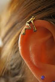 gold ear cuff tree frog gold ear cuff non pierced no piercing midnights mojo