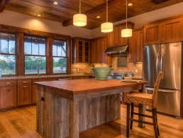 kitchen island tops cabinets interesting warm and inviting reclaimed wood kitchen