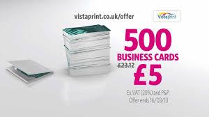 Vistaprint 10 Business Cards Vistaprint Tv Advert Business Cards Handyman Youtube