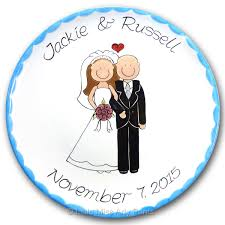 personalized anniversary plate personalized anniversary wedding plates miss arty