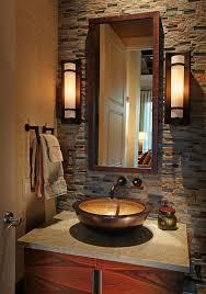 Contemporary Bathroom Wall Sconces Contemporary Bathroom Wall Sconces Powder Room Transitional With