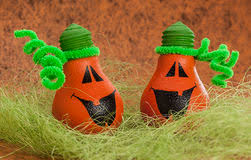 pumpkin light bulb royalty free stock images image 20738029