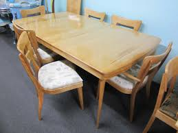 home design wonderful heywood wakefield dining table and chairs
