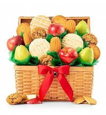 miami gifts delivered by gifttree fresh fruit and cookies basket gifttree
