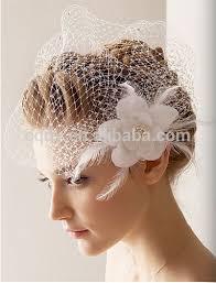 bridal headwear bright feather flower sash wedding headpiece bridal headwear