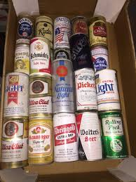 American Light Beer Thbabc01 Assorted American Beer Cans Trevor Howsam Limited