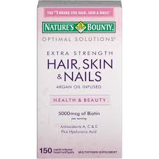 medichest nature u0027s bounty optimal solutions extra strength hair