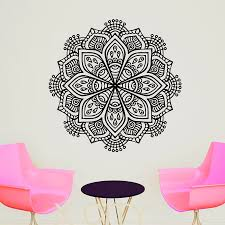 office interior signs promotion shop for promotional office indian buddha yoga mandala pattern oum om sign decal vinyl sticker home room gym office interior decor wall art murals