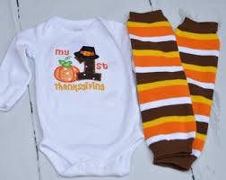 Thanksgiving Shirts For Toddler Boy My 1st Thanksgiving Thanksgiving For Baby Boy