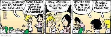 How To Bus Tables Tina U0027s Groove Psychology Comics And Cartoons The Cartoonist Group