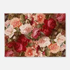 Flower Area Rugs by Vintage Floral Rugs Vintage Floral Area Rugs Indoor Outdoor Rugs