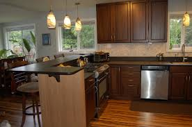 L Shaped Kitchen Island Ideas by Stunning Kitchen Island Granite Photos Home Decorating Ideas