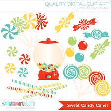 cute candy cane clipart 54