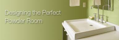Smallest Powder Room - discover creative new design ideas for the powder room