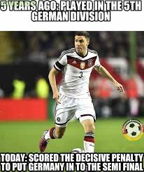 Soccer Player Meme - 1 fc k禧ln player jonas hector scored the decisive penalty today