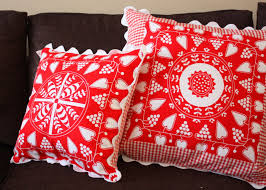 Cheap Accent Pillows For Sofa by Red Decorative Pillows For Living Room Decor The Latest Home
