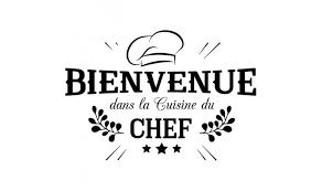 la cuisine citation vente privée sticker citation bienvenue dans la cuisine du chef