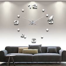 Decorative Wall Clocks For Living Room Compare Prices On Bird Clock Online Shopping Buy Low Price Bird