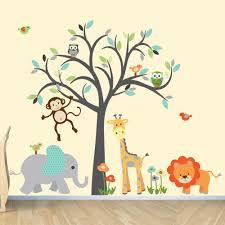 28 jungle safari wall stickers safari wall stickers 2017 jungle safari wall stickers safari wall decal nursery wall decal jungle by
