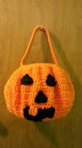 Halloween Candy Bags Craft by Crochet How To Crochet Pumpkin Halloween Candy Bucket Tutorial