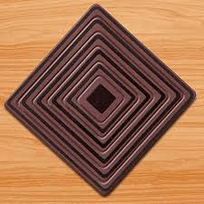 wood floor protectors by metric usa set of 8 4 square or