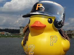 pirates latest good luck charm the rubber duck seems to be