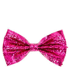 pink bows pink glitter bow clip s us