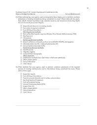 Type Of Foundation Appendix A Survey Questionnaire Web Only Current Practices