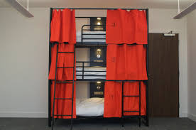 3 Level Bunk Bed Amazing Bunk Bed Curtains Design Ideas Pinterest Triple Bunk