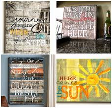 crafty allie quote wood art decor sign giveaway