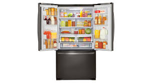 black friday french door refrigerator lg lfcs25426d lfc25426s french door refrigerator review reviewed