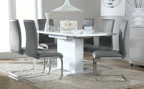 Dining Room Tables Ikea by Dining Table Monaco White High Gloss Dining Table Ikea Forsby