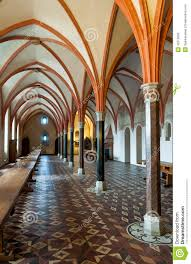 malbork castle dining room detail stock photo image 42510800