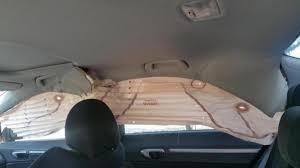 Curtain Airbag 08 Civic Si Sedan Curtain Airbags Deployed 8th Generation Honda