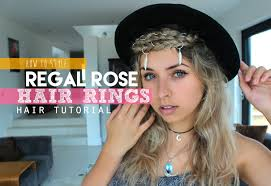 hair ring how to style hair rings