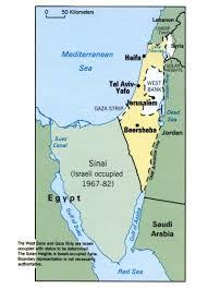 Sinai Peninsula On World Map by Israel