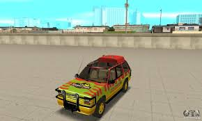 ford explorer jurassic park for gta san andreas