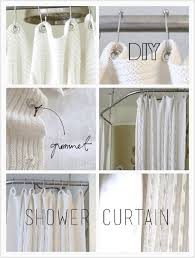Simple Shower Curtains 10 Simple Diy Shower Curtains