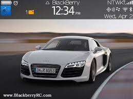 audi r8 theme audi r8 blackberry themes free blackberry apps
