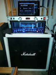 Marshall 412 Cabinet Past Hughes U0026 Kettner Grandmeister 36 Tube Amp Head With Marshall