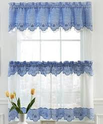 Curtains Kitchen Window by Best 25 Blue Kitchen Curtains Ideas On Pinterest Kitchen