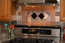 shaped tile kitchen backsplash peel and stick mirorred glass