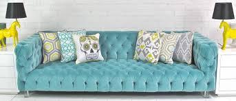 www roomservicestore com boca tufted aqua velvet sofa