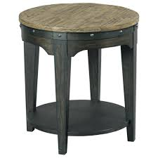 solid oak coffee table and end tables solid wood end tables kincaid furniture plank road artisans round