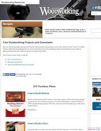 Woodworking Magazines Online by Wood Archivist Free Woodworking Plans The Patriot Woodworker