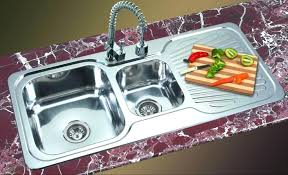 stainless steel sinks with drainboard canada home design hiremail info