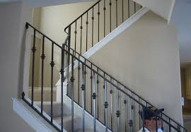 Decorative Wrought Iron Railings Ornamental Wrought Iron Staircase Railing Orange County Ca