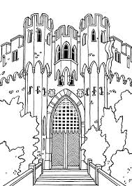 free castle coloring sheets burg lahneck colorpages