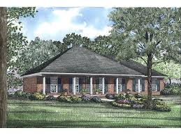 ranch designs hip roof house plans neoclassical ranch with hip roof design and